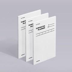 [모트모트] 텐미닛 플래너 31DAYS 오리지널 - 화이트 3EA