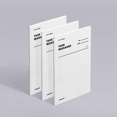 [모트모트] 태스크 매니저 31DAYS 오리지널 - 화이트 3EA
