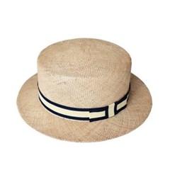 Ribbon Boater Hat