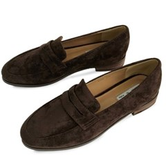 kami et muse Classic top band suede loafers_KM19w030