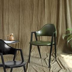 조셉 레더 의자 식탁의자 (블랙/와인/카키) JS03
