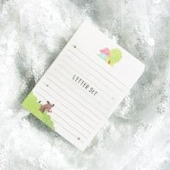 디원 댕댕이 편지지 (JL11)