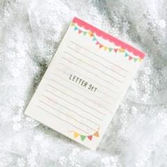 디원 가랜드 편지지 (JL06)