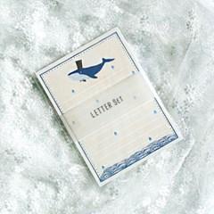 디원 고래 편지지 (YL21)