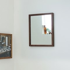 원목 프레임 벽거울