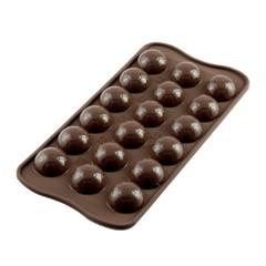 실리코마트 초콜릿만들기 얼음틀 초코몰드 축구공_(1221318)