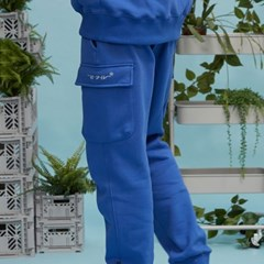 RC pocket jogger pants (coablt blue)