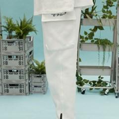 RC pocket jogger pants (white)