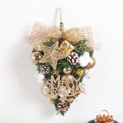골드웨이브목화벽걸이 40cmP 크리스마스 장식 TRWGHM_(1458115)