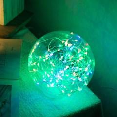 LED 전구 설치볼 100mm 트리 전구 전구캡 TRLECV_(1456433)