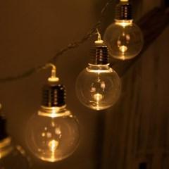 LED 전구캡 백열전구 투명 60mm(2PCS) 전구캡 TRLECV_(1456432)