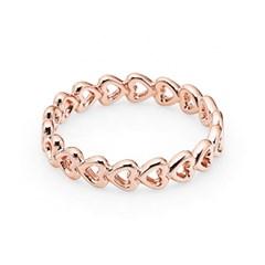 판도라 PANDORA 180177 링크드 러브 로즈 반지