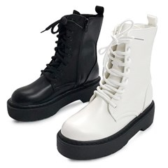 kami et muse Platform middle heel walker boots_KM19w032