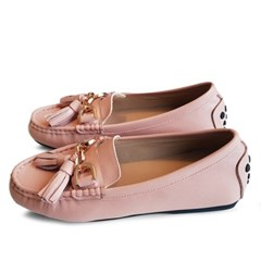 kami et muse Volume tessle stitch leather loafers_KM19w031