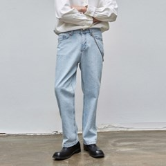 NEWTRO LONG WIDE DENIM_LIGHT BLUE