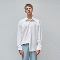 OVER-FIT SILKY SHIRTS_IVORY