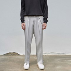 LIGHT WIDE SLACKS_GRAY