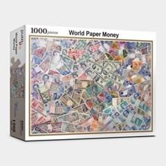 직소퍼즐 1000피스 세계의 지폐 PL1268