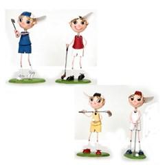 선물/디스플레이/시상품/핸드메이드 깡통 골프인형