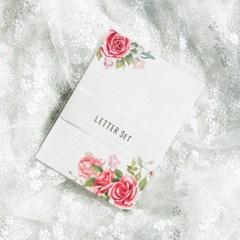 디원 장미 편지지 (JL01)