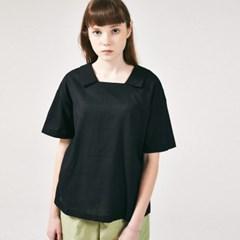 프론리어 카라 티셔츠 블랙_(786034)
