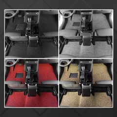 언더쉴드 코일매트 MINI 클럽맨 3세대 (F54) (17~현재) 2열 컵홀더X