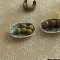 핸드메이드 피클&소스볼 oreo forest _ 9.5cm 작은 그릇