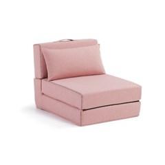 스페인 직수입 아르티 1인 소파베드 핑크