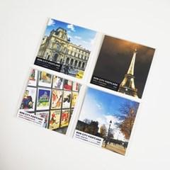본시티 Paris 엽서