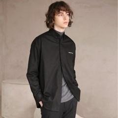 코튼 트윌 셔츠 #40 BLACK_(1272408)