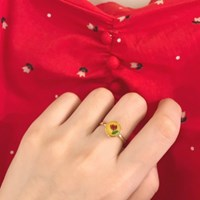 [빈티지 장미 반지] 로즈링