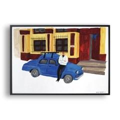 파란색 자동차