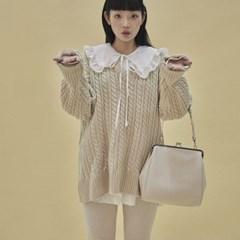 Olsen frame bigi bag_ivory