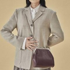 Olsen frame mini bag_burgundy