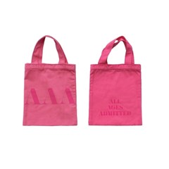 PINK SIGNATURE MINI TOTE BAG