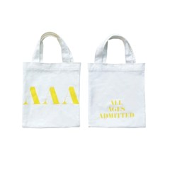 YELLOW SIGNATURE MINI TOTE BAG