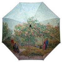 차광율99.9%암막카본초경량골프우양산_우블리-고흐-연인이 있는 정원