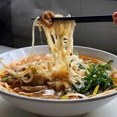 매운 곱창 쌀국수 (2인분)