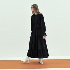 Bohemian Maxi Dress in Black