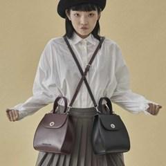 Chloe vintage shoulder bag_burgundy