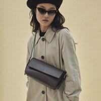 Emma baguette bag_brown