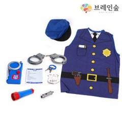 [브레인숲] 경찰관 8종 역할놀이 (의상포함)_(2113632)