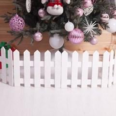 화이트 울타리 100x20cm 트리 크리스마스 TROMCG_(1462746)