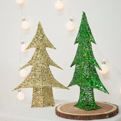 럭셔리철재트리 45cm 미니 트리 크리스마스 TRHMES_(1462393)