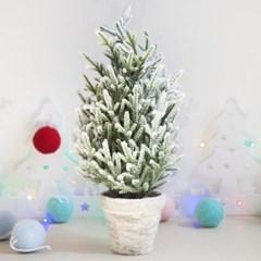 고급스노우스푸스트리 40cm 트리 크리스마스 TRHMES_(1462385)