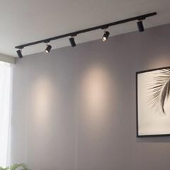 LED 히트 3w 레일 조명 일자(ㅡ) 2M 세트
