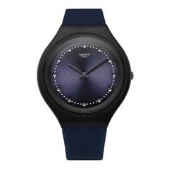 SWATCH 스와치 SVUN100 공용 쿼츠 실리콘 시계_(1145349)