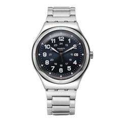 SWATCH 스와치 YWS420G 남성용 쿼츠 메탈 시계_(1145354)