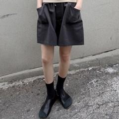 pocket washing shorts pants (3colors)_(1337470)