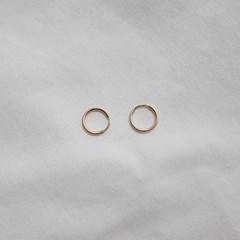 12mm, 16mm Pipe Earring